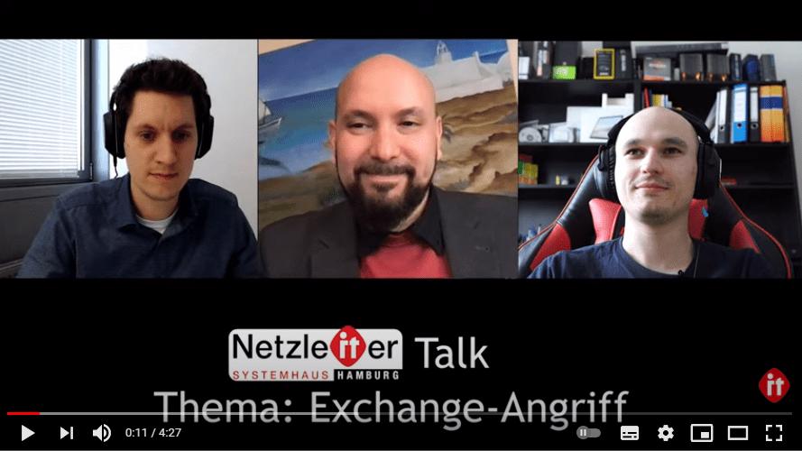 Microsoft Exchange Sicherheitslücke – Netzleiter Talk
