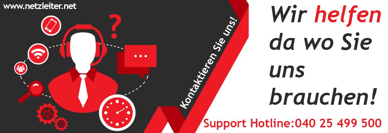 Netzleiter Hotline Banner