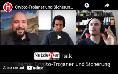 Crypto-Trojaner EKING und Sicherung – Netzleiter Talk aus Hamburg