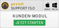 Kunden-Modul pcvisit Support 15.0 starten